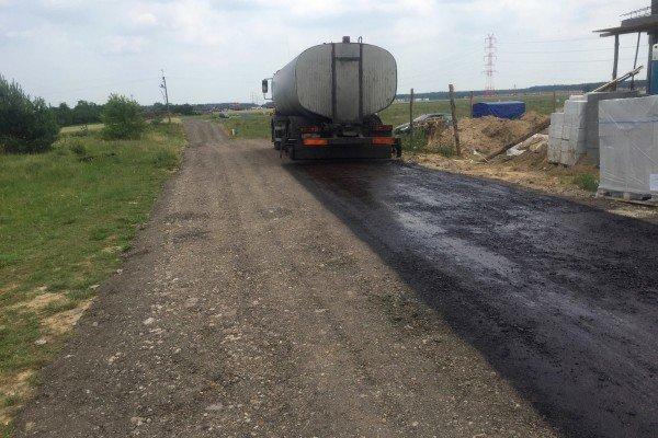Wykonanie drogi dojazdowej do nowobudowanego osiedla